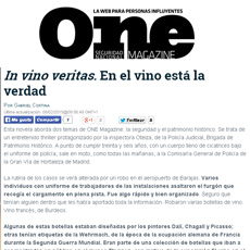 Reseña en One Magazine